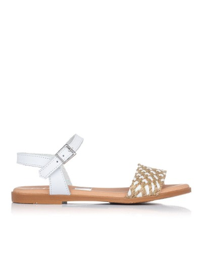 Sandalia rafia Niñas Oh my sandals 4755