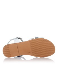 Sandalia piel combinada Niñas Oh my sandals 4752
