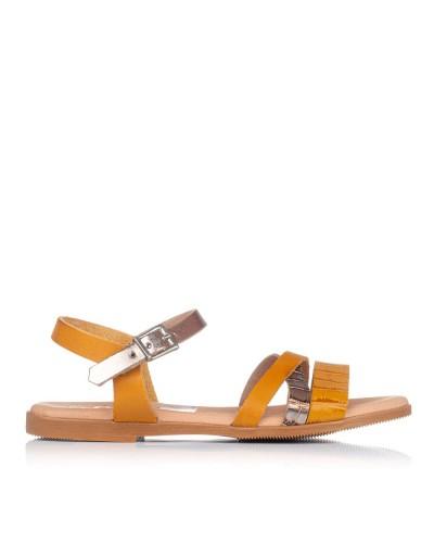 Sandalia piel combinada Oh my sandals 4752