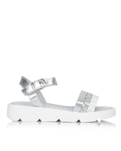 Sandalia piel plataforma Niñas Gomez 4100
