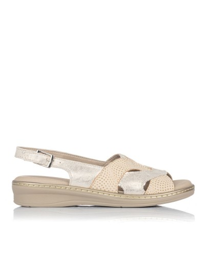 Sandalia piel confort Mujer Pitillos 6001