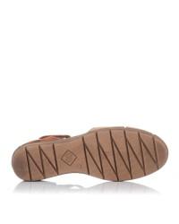 Sandalia cerrada piel velcro Giorda 29838
