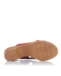 Sandalia piel tacon Giorda 55689