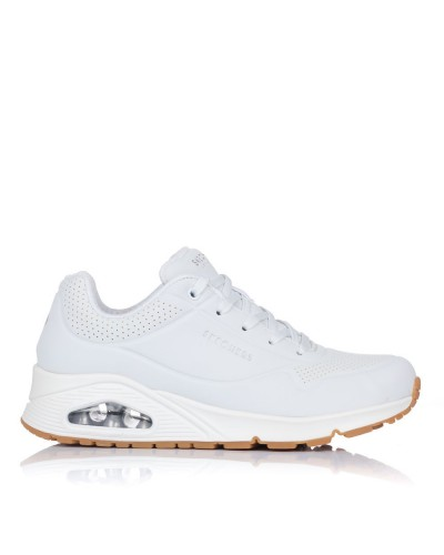 Zapatilla uno stand on air Skechers 73690 WHT
