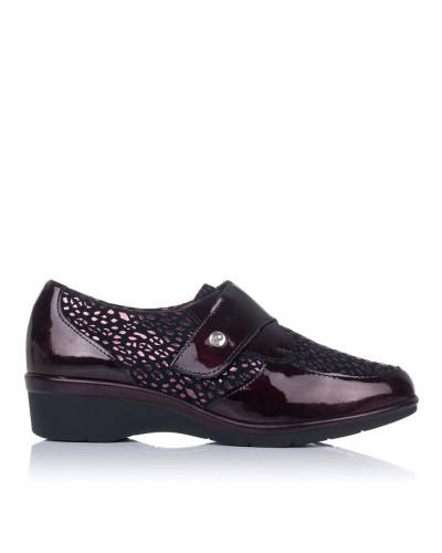 Zapato velcro piel clasicc Mujer Pitillos 6311