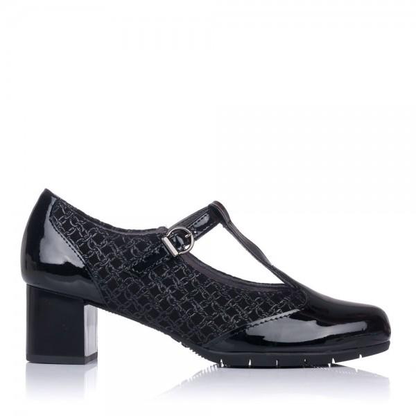 Zapato t piel tacon medio Pitillos 6351
