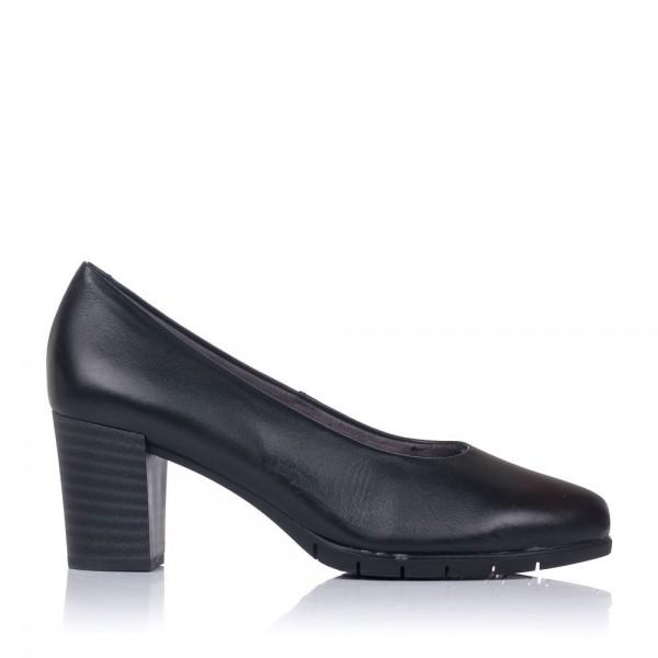 Zapato salon piel tacon alto Mujer Pitillos 6360