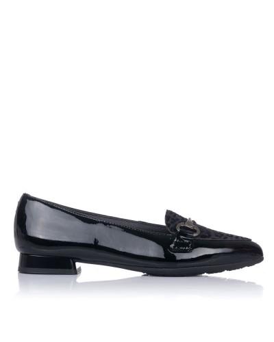 Zapato adorno piel combi Mujer Pitillos 6383