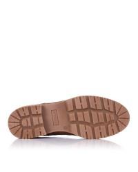 Zapato cordones piel coco Mujer Pitillos 6431