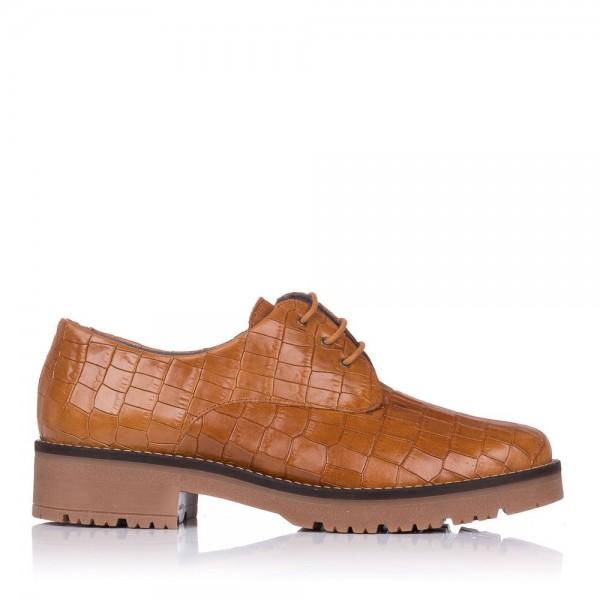 Zapato cordones piel coco Pitillos 6431