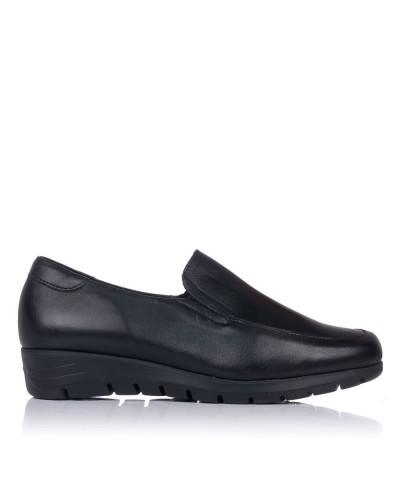 Zapato mocasin piel Mujer Pitillos 2100