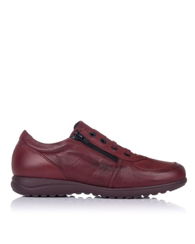 Zapato sport piel cordones Mujer Pitillos 2117