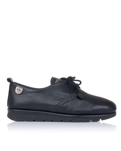 Zapato cordones piel Mujer 48 horas 0902