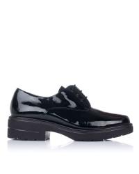 Zapato cordones charol tacon Pitillos 6440
