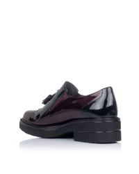 Zapato borlas charol tacon Pitillos 6442