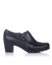 Zapato abotinado piel tacon Pitillos 3111