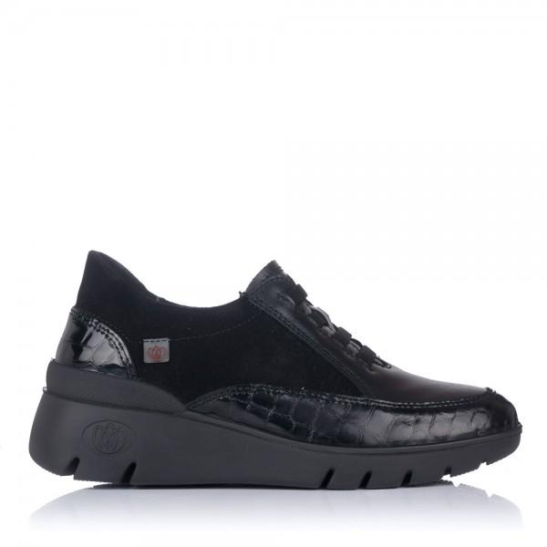 Zapato sport piel elasticos Mujer Laura azaña 25203