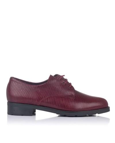Zapato piel cordones Mujer Pitillos 6415