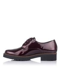 Zapato cordones charol Mujer Pitillos 6420