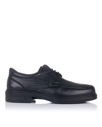 Zapato piel cordones tacon Luisetti 33601