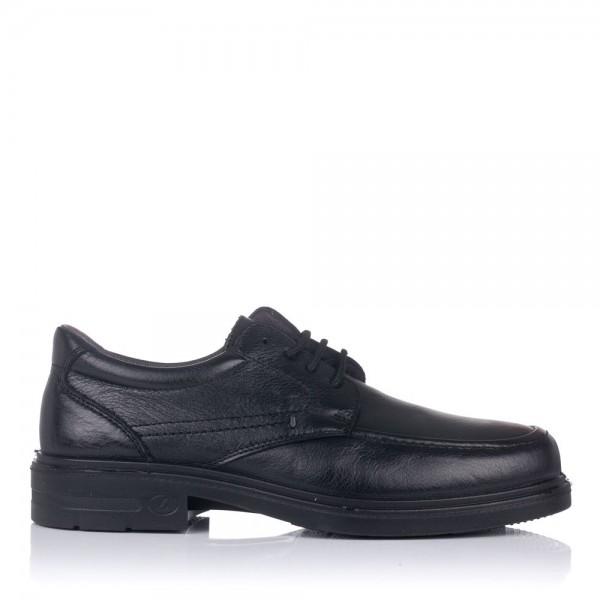 Zapato piel cordones tacon Hombre Luisetti 33601