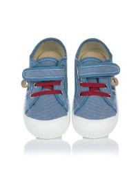 Zapatilla sport lona velcro Niños Zapy Y30130