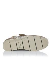 Zapato sport piel velcro cuña 48 horas 1103