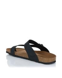 Sandalia piel dedo bio Hombre Inter-bios 9511