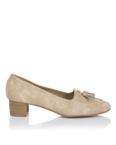 Zapato borlas tacon medio Mujer Maria jaen 2001
