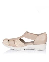 Sandalia piel elasticos Pitillos 2004