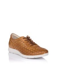 Zapato cordones calado piel Pitillos 6731
