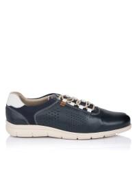 Zapato deportivo piel Baerchi 4336