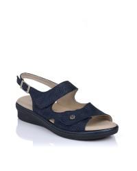 Sandalia 2 velcros confort Pitillos 6602