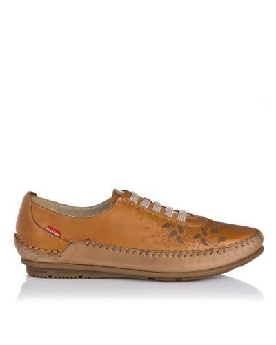 Zapato sport piel elasticos Fluchos 1181
