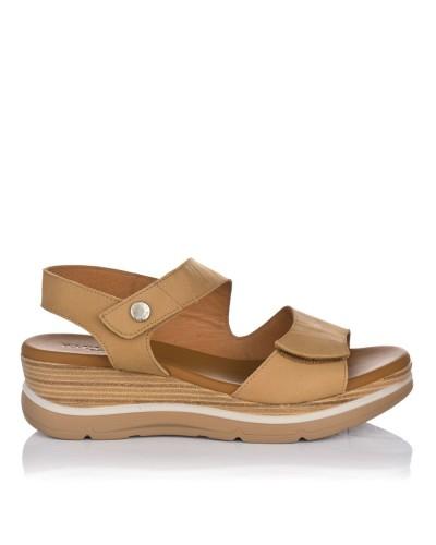 Sandalia velcros piel Paula urban 2-324