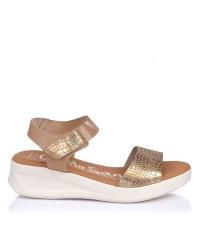 Sandalia piel cuña Oh my sandals 4836