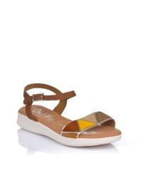 Sandalia piel multi plana Oh my sandals 4829
