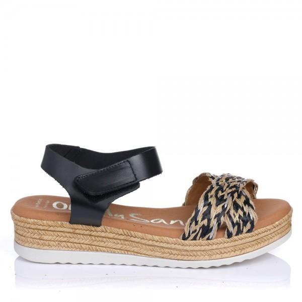 Sandalia rafia Oh my sandals 4845