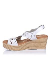 Sandalia piel cuña Oh my sandals 4862