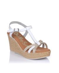 Sandalia cuña alta Oh my sandals 4870