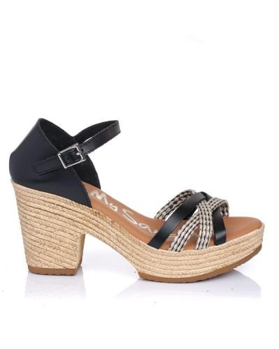 Sandalia talon plataforma Oh my sandals 4885