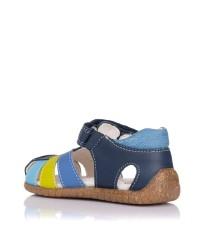 Sandalia piel combinada Pablosky 091622
