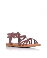 Sandalia romana plana piel Oh my sandals 4804