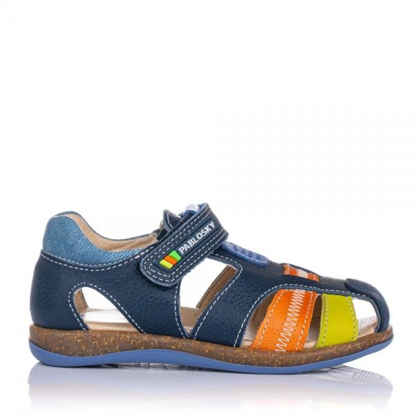 Sandalia piel combinada Pablosky 099327