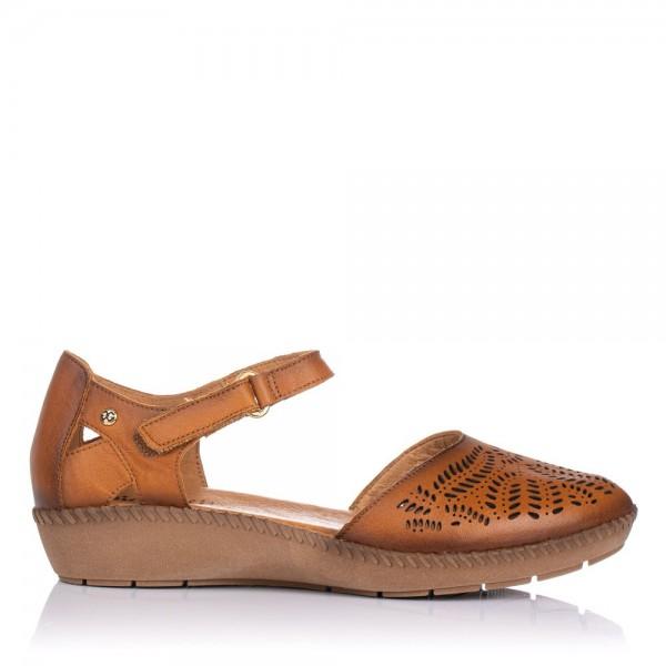 Zapato piel calada pulsera Giorda 28843
