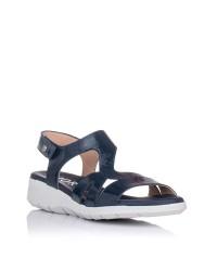 Sandalia piel confort Giorda 21868