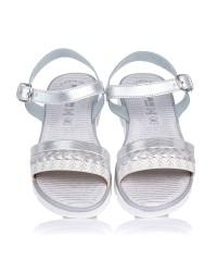 Sandalia piel combi plataforma Gomez 4106
