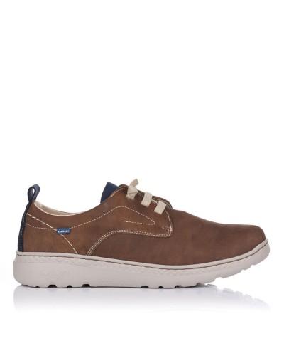Zapato piel elasticos sport...
