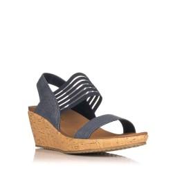 sandalias de cuña mujer